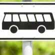Bus sign — Stock Photo #20108183