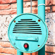 Stock Photo: Old intercom