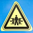 Warning sign — Stock Photo #20109605