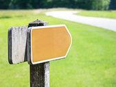 Signo de flecha — Foto de Stock