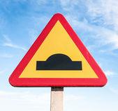 Road warning sign — Stock Photo