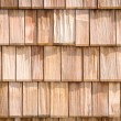 Small wooden shingles - Stock Photo