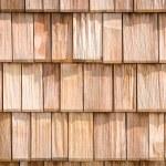 Small wooden shingles — Stock Photo #20255061