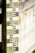 Water level indicators — Stock Photo