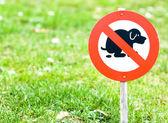 No dog sign — Stock Photo