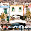 Puerto de mogan — Stock Photo