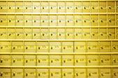 Safety deposit boxes — Stock Photo