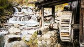 Eski watermill — Stok fotoğraf