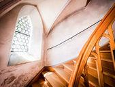Alte treppe — Stockfoto