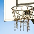 Basketball hoop — Stock Photo #21028047