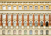 Old facade — Stock Photo