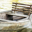 Old rowboat — Stock Photo #21228021
