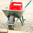 Wheelbarrow — Stock Photo