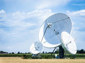Satelite dish — Stockfoto