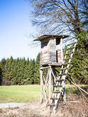 Wildlife observation point — Stock Photo