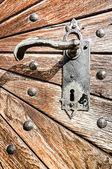 Old wooden door — ストック写真