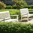 Benches - Foto Stock