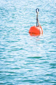 Red buoy — Foto de Stock