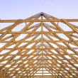 Modern gable — Stock Photo