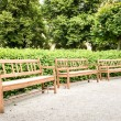 Benches — Stock Photo