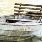 Old rowboat — Stock Photo #22085563