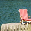 Lounge chair — Stock Photo