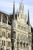 慕尼黑市政厅 — 图库照片