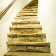 Old staircase - Stock Photo