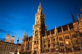 Munich city hall — Stock Photo