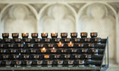 Prayer candles — Stock Photo