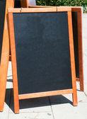 空のブラック ボード — ストック写真