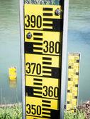 Indicatori di livello dell'acqua — Foto Stock
