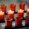 Prayer candles - Stock Photo