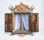 Bavarian window — Stock Photo