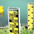 Water level indicators - Stock Photo