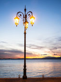 Old streetlamp — Stock Photo