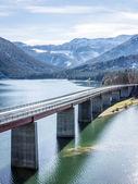 Sylvenstein lake — Stock Photo