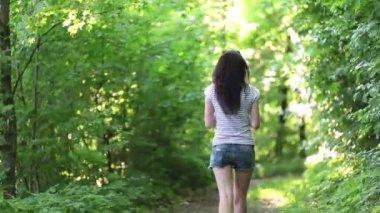 Girl — Stock Video