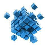 Business, internet, communication concept block — Stock Photo