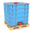 Water tank cube — Stock Photo #50006147