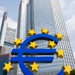 Euro sign - Stock Photo