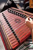 Hammered dulcimer — Stock Photo