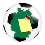 Soccer memo - Germany — Stock Photo #15781219