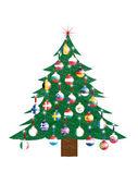 Christmas tree - European Union — Stock Photo
