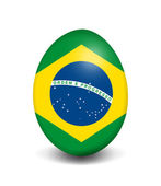 Easter egg - Brazil — Stock Photo