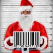 Bad Santa Claus - Stock Photo