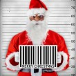 Bad Santa Claus — Stock Photo