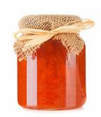 Pot of jam — Stock Photo