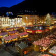 Christmas market in Bolzano - Stock Photo