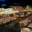 christmas market in bolzano — Stock Photo